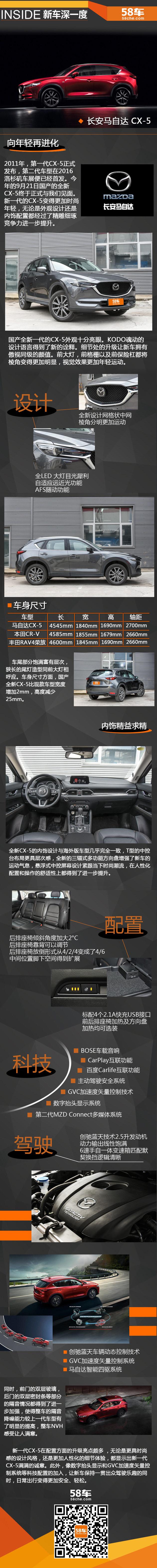长安马自达全新CX-5 新车深一度解析