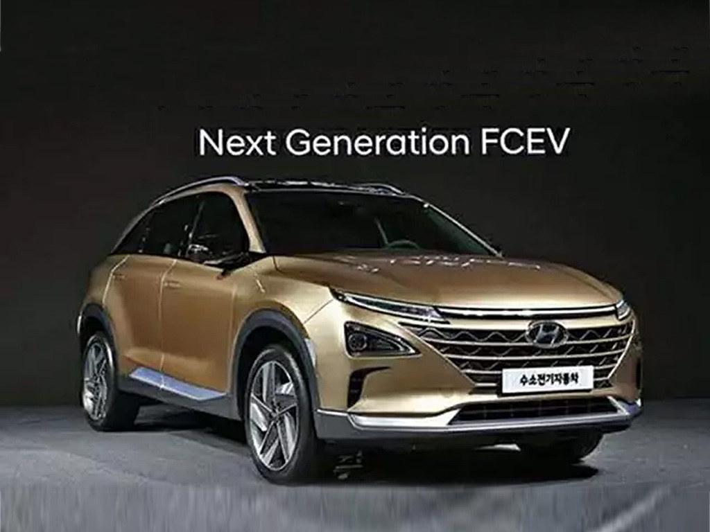 现代 明年量产氢燃料SUV