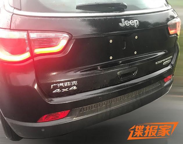 Jeep指南者新增车型谍照曝光 将搭9AT