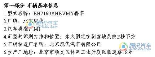 基于老伊兰特? 北京现代自主车AHEV消息