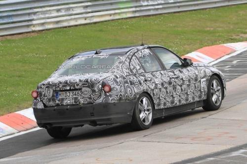 或明年9月发布 新一代宝马3系赛道首测