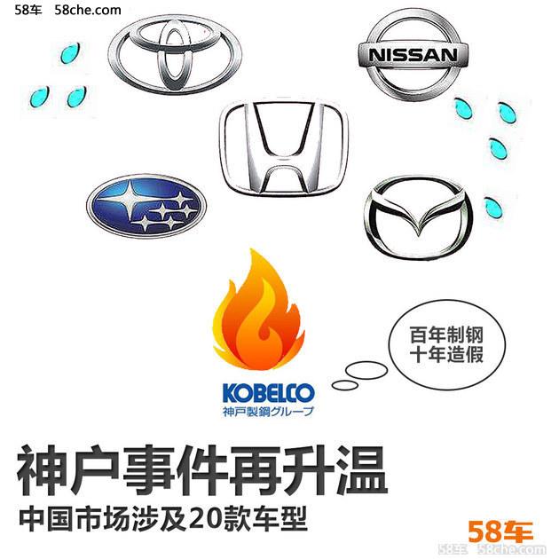 神户事件再升温 中国市场涉及20款车型