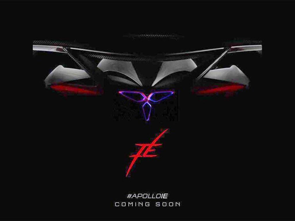 Apollo全新车预告图发布