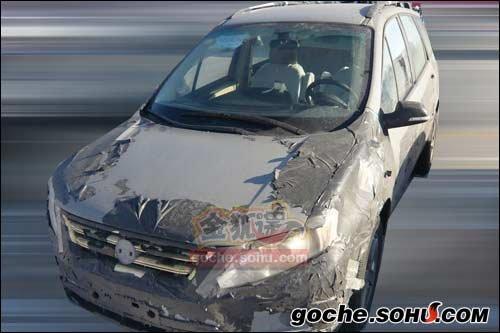 将于10月上市 东风SUV采用1.8T发动机