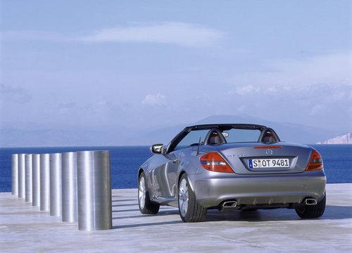 售价59.8万起 奔驰SLK三款车国内上市