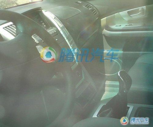 山寨雷克萨斯RX 黄海法萨特量产车谍照