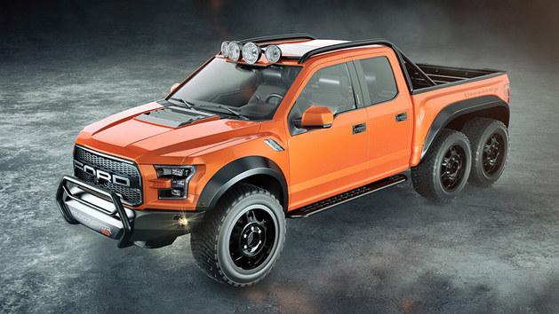 Hennessey推新作VelociRaptor 6X6 SUV