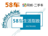 10月58车生活指数报告 网购汽车认可低