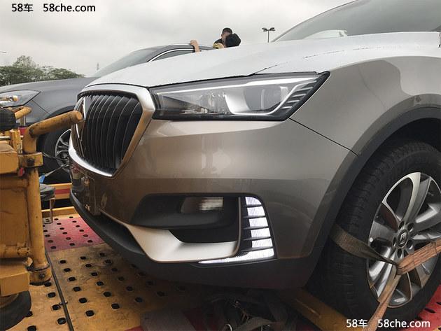 2017广州车展探馆 宝沃BX5S车型提前曝光