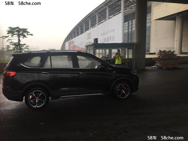2017广州车展探馆 斯威X7S实车提前曝光