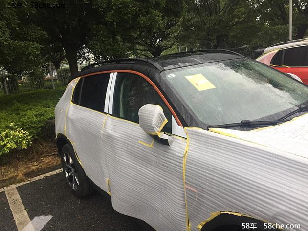 2017广州车展探馆 领克01限量版抢先曝光