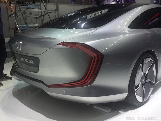 2017广州车展探馆 本田全新C001概念车