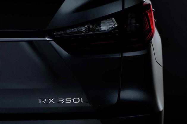雷克萨斯RX 7座版预告图 洛杉矶车展亮相