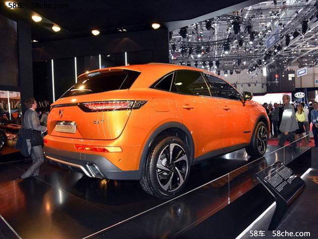2017广州车展 国产DS 7 CROSSBACK亮相