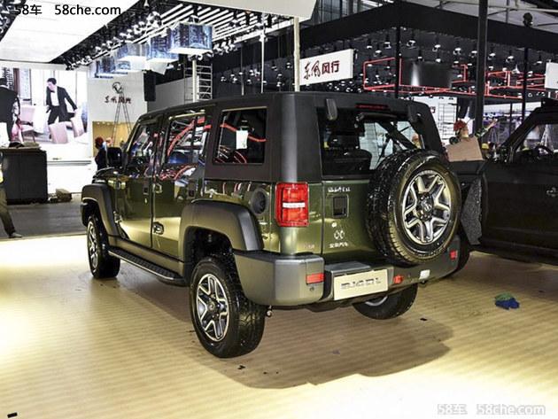 2017广州车展 新款北京BJ40L正式发布