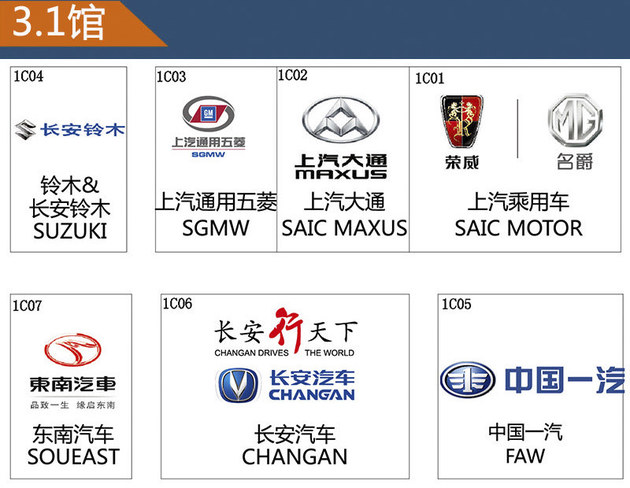2017广州车展探馆汇总 11款新车抢先看