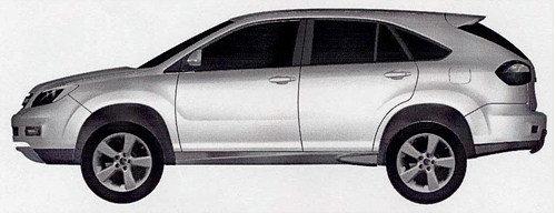 今年9月上市 比亚迪S6专利申报图曝光