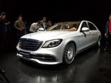 2017广州车展 奔驰新款S级车型正式上市