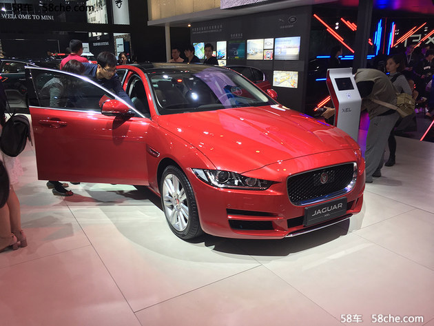 2017广州车展 国产捷豹XEL正式首发亮相