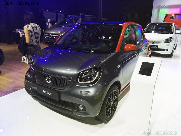 2017广州车展 2018款smart车型正式亮相
