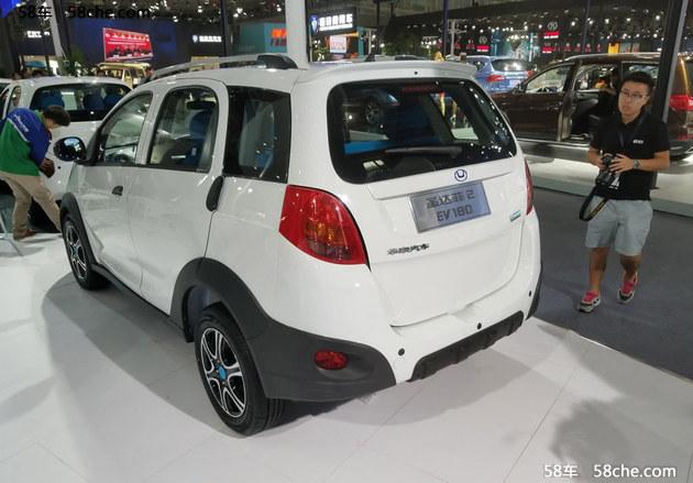 2017广州车展 圣达菲2 EV180正式亮相