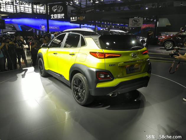 广州车展 现代小型SUVENCINO-正式亮相
