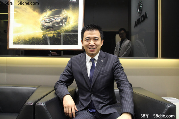 广州车展 专访广汽本田市场科张毅科长