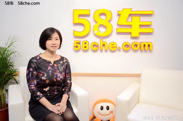 广州车展 访纳智捷市场部副部长叶姿瑛
