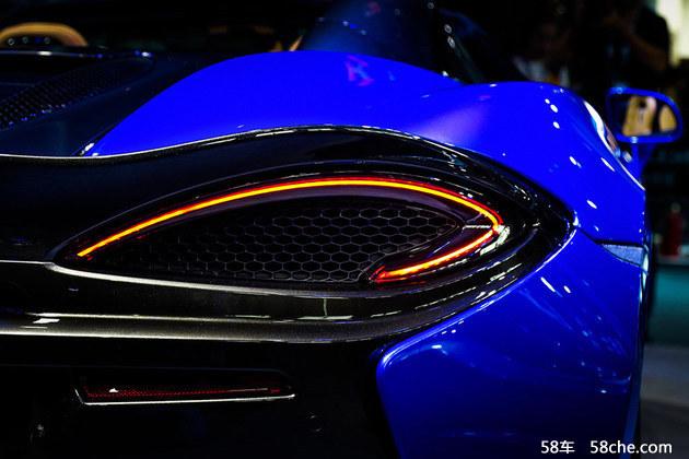 迈凯伦全新570S Spider车型重磅登陆中国