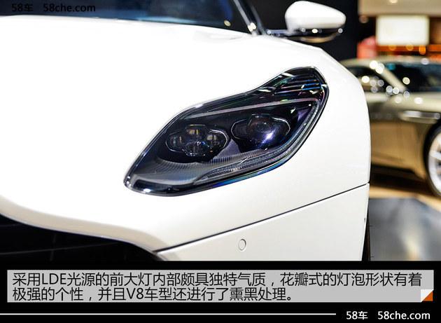 2017广州车展实拍 阿斯顿·马丁DB11 V8