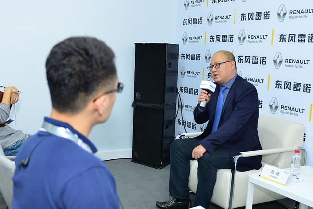 2017广州车展 专访东风雷诺销售部长陈曦