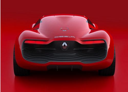 巴黎车展亮相 雷诺DeZir双座轿跑发布