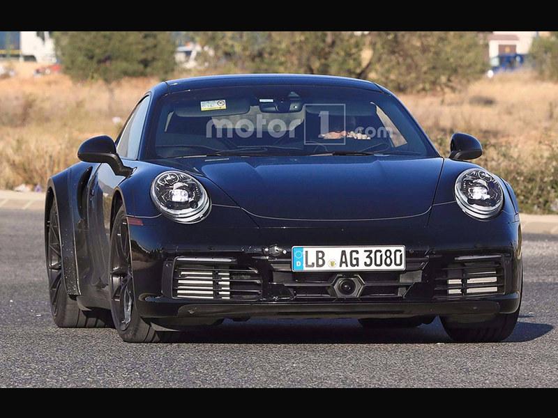 保时捷新911 Turbo谍照