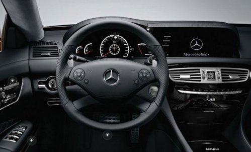 配备V8和V12 奔驰CL AMG版本官图泄露