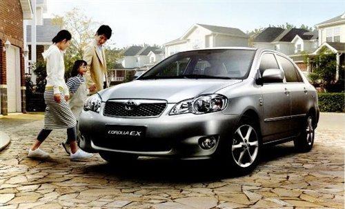 首推五款车型 丰田新款花冠EX参数配置