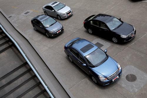 黄金成色 试驾四款1.6升家用紧凑级轿车