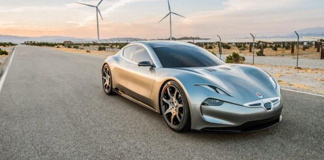 Fisker新车渲染图曝光 配无人驾驶系统