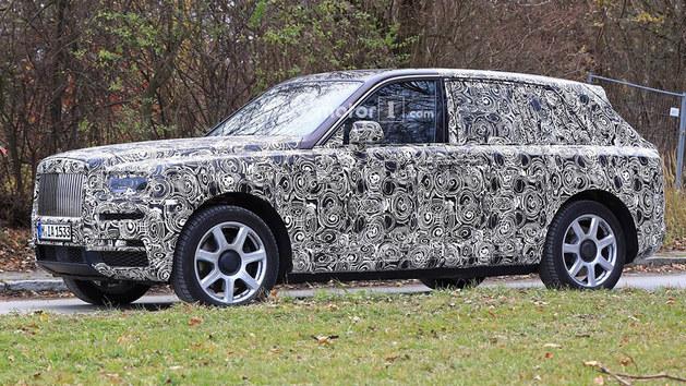 劳斯莱斯全新SUV车型 明年正式公布命名