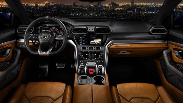 兰博基尼Urus全球首发 配多种驾驶模式