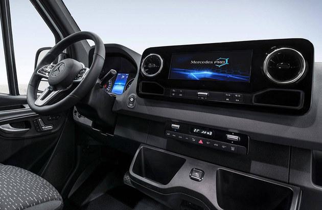 奔驰新Sprinter车型预告图 配置大幅升级