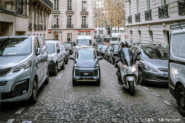 车和家SEV官图发布 单座布局/外观小巧