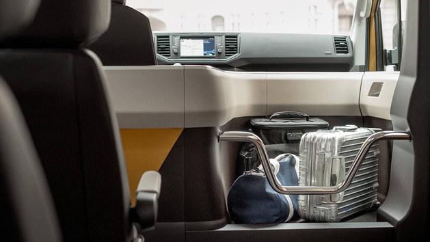Moia首款纯电动概念车官图 大众T6打造