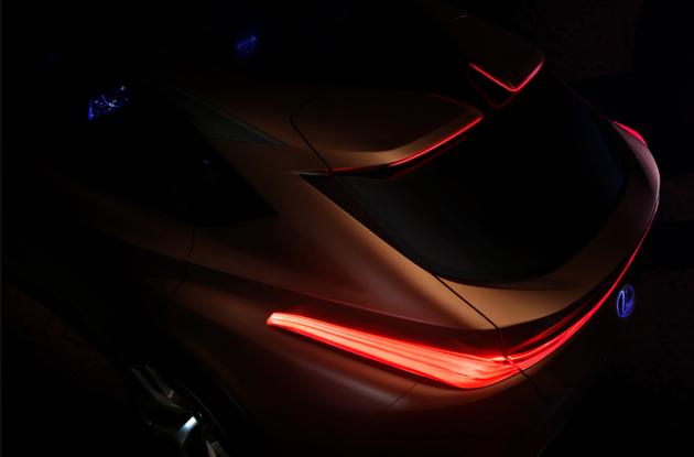 雷克萨斯LF-1概念车预告图 2018初亮相