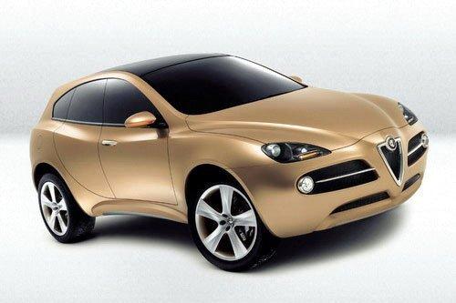 全新的C-Evo平台 阿尔法.罗密欧SUV前瞻
