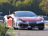 法拉利488 GTO低伪谍照 日内瓦车展亮相