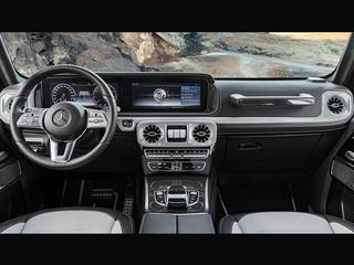 奔驰发布G级内饰官图 舒适度科技感提升