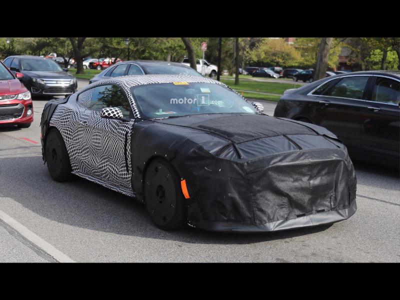 新款Mustang GT500谍照