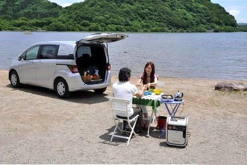 基于飞度平台 本田五座版MPV海外发布