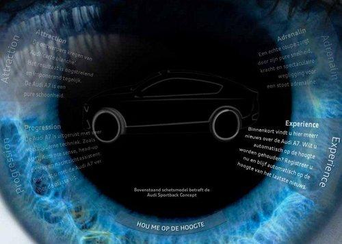 7月底发布 奥迪A7 Sportback最新消息
