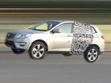 北汽德奔首款SUV路试谍照 或2020年上市